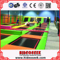 China Manufacturer Bungee Jumping Indoor Trampoline Bed for Amusement Park